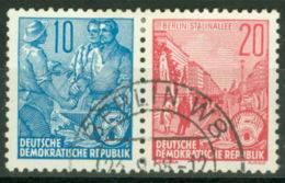 DDR Zusammendruck W5 O - [6] République Démocratique