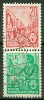 DDR Zusammendruck S8 O - [6] République Démocratique
