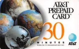 AT&T PrePaid Phone Card 30 Minutes - AT&T