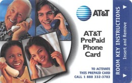 AT&T PrePaid Phone Card / Hotel Room Key - AT&T