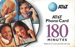 AT&T PrePaid Phone Card 180 Minutes - AT&T