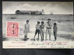 Postcard Issued George Schmidt In Matagalpa , Puntarenas,  Circulated In 1908 In Granada - Nicaragua