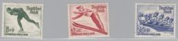 DR  600-602, Postfrisch *, Olympische Winterspiele 1936 - Allemagne