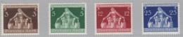 DR  617-620, Postfrisch * Gemeindekongress 1936 - Neufs