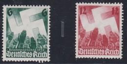 DR  632-633, Postfrisch *, Reichsparteitag 1936 - Neufs