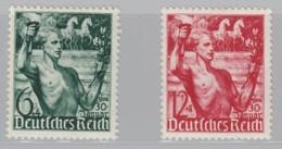 DR  660-661, Postfrisch *, Machtergreifung 1938 - Neufs