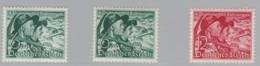 DR  684 X+y-685, Postfrisch *, Volksabstimmung Sudetenland 1938 - Neufs