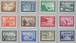 DR  702-713, Postfrisch *, Kameradschaftsblock Der Reichspost 1939 - Allemagne