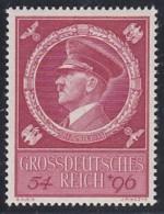 DR  887, Postfrisch **, 55. Geburtstag AHs 1944 - Allemagne