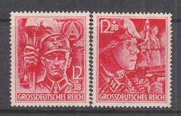 DR  909-910, Postfrisch **, SA Und SS 1945 - Neufs