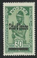 COTE D'IVOIRE 1933 YT 95** - MNH - Ivoorkust (1892-1944)