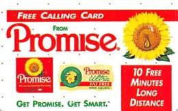 Promise Margarine Free Calling Card - Advertising
