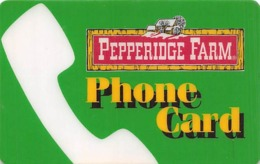 Pepperidge Farm Phone Card - Advertising