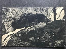 Postcard Siempre Viva Falls ; Goldmine District , Bluefields , Circulated 1935 - Nicaragua