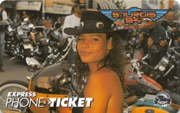 Sturgis 1994 Motocycle Rally Express Phone Ticket - Motorbikes