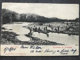 Postcard Santa Cruz, Produced By Schmidt Matagalpa,  Circulated 1905 - Nicaragua