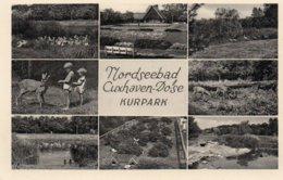 NORDSEEBAD-CUXHAVEN-DOSE-KURPARK-NON VIAGGIATA - Cuxhaven