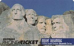 Mount Rushmore USA / Express Phone Ticket - Landschappen