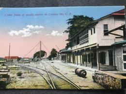 Postcard Corinto Circulated 1940 - Nicaragua