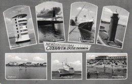 NORDSEEHEILBAD-CUXHAVEN-DOSE-DUHNEN- VIAGGIATA 1961 - Cuxhaven