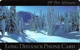 Long Distance Phone Card - Landschappen
