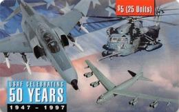 USAF Celebrating 50 Years - Airplanes