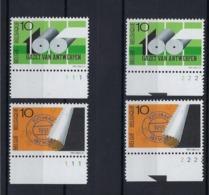N°2435/2436 (pltn°set) MNH ** POSTFRIS ZONDER SCHARNIER SUPERBE - Plate Numbers