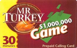 Mr. Turkey $1,000,000 Game - Reclame