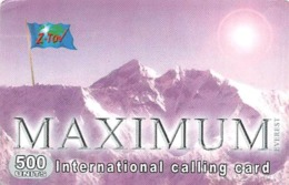 Maximum International Calling Card - Landschappen