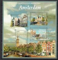 "Feuille Capitales Européennes : Amsterdam"" - Blokken En Velletjes"