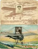 LOT De 2 PHOTOS MONTAGE - - Aviación