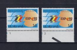 N°2448 (pltn°set) MNH ** POSTFRIS ZONDER SCHARNIER SUPERBE - Plate Numbers