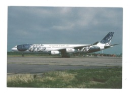 CARTOLINA AIRBUS A340-312 - 1 - 1946-....: Era Moderna