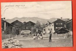 MTU-37 Lens Près Montana, Groupe De Villageois. Circulé 1910 Trüb 6997 - VS Valais