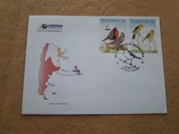 Argentine FDC, Oiseaux Indigènes - FDC