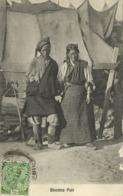 Bhutan, Native Bhutia Couple, Necklace Jewelry (1910s) Postcard - Butan