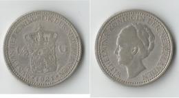 PAYS BAS  1/2  GULDEN 1921 ARGENT - 1/2 Gulden