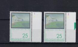 N°2417 (pltn°set) MNH ** POSTFRIS ZONDER SCHARNIER SUPERBE - Plate Numbers