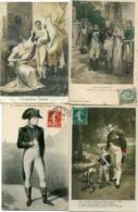 NAPOLEON -  LOT De 9 CPA   - - Personajes Históricos