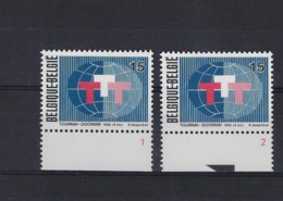 N°2517 (pltn°set) MNH ** POSTFRIS ZONDER SCHARNIER SUPERBE - Plate Numbers