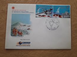Argentine FDC, Antarctique Argentine 2002 - FDC