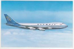 °°° 14027 - OLYMPIC AIRWAYS - BOEING 747-200 B JUMBO JET °°° - 1946-....: Era Moderna