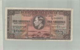 BILLET BANQUE   BERMUDA GOVERNMENT Gouvernement Des Bermudes. 5 Shillings  -sept  2019  Alb Bil - Bermudas