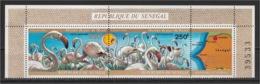 Senegal - 1974 - Rare - ( Djoudj Park Bird Sanctuary - Ostrich ) - MNH (**) - Sénégal (1960-...)
