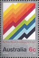 AUSTRALIA - SYDNEY STOCK EXCHANGE CENTENARY 1971 - MNH - 1966-79 Elizabeth II