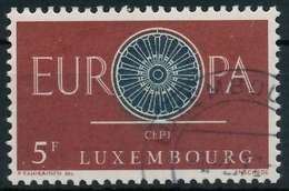 LUXEMBURG 1960 Nr 629 Gestempelt X9A2DBA - Luxemburgo