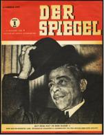 """1. Jahrgang, Nr. 1  """"Der Spiegel"""" Zeitschrift  -  Original Erstauflage  -  4. Januar 1947 - Sonstige"""