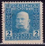 Bosnia & Herzegovina 1912, Emperor Franz Josef, 2h, Sc#66, Used - Bosnia And Herzegovina