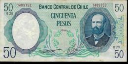 CHILE 50 PESOS , AÑO 1981, UNC - Chili