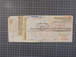 Cx 9) Portugal Suisse Lettre De Change Banco Nacional Ultramarino 1920 M. Jules Mange - Cheques En Traveller's Cheques